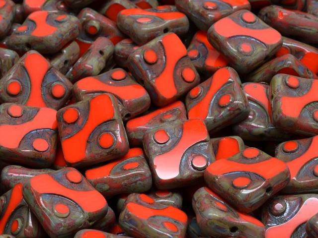 Square Designed Beads