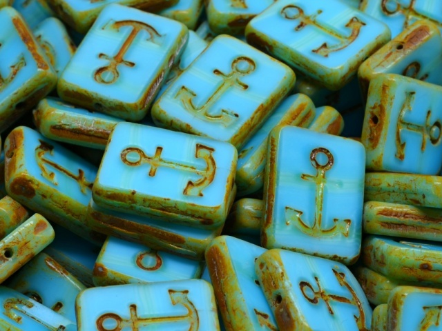 Anchor Design Rectangle Beads