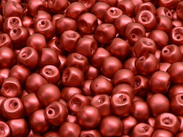 Mushroom Button Beads 6x5mm
