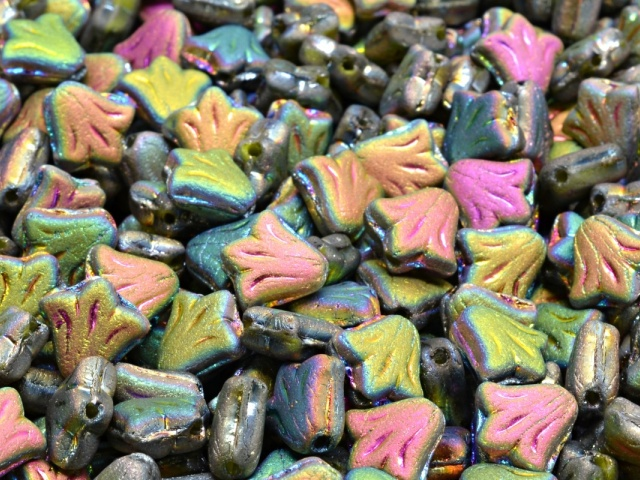 Lily Flower Beads 9x9mm