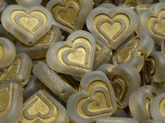 Heart In Heart Beads